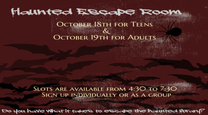 Haunted Escape Room