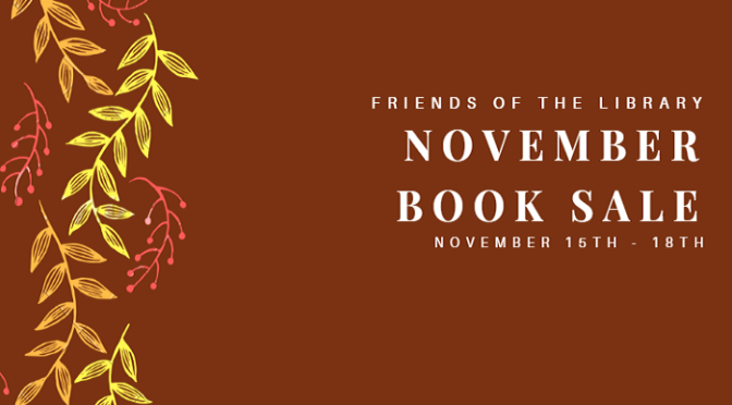 Friends of the Library November Book Sale