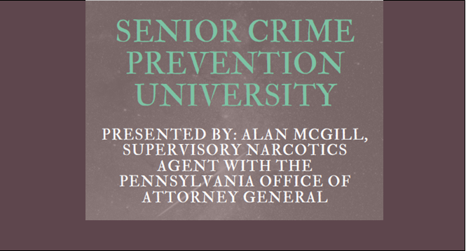 Senior Crime Prevention University